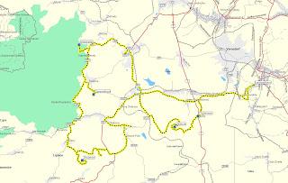 5 Berge Radtour