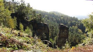 Geocaching CZ- in der Bürgstein-Schwoikaer Schweiz