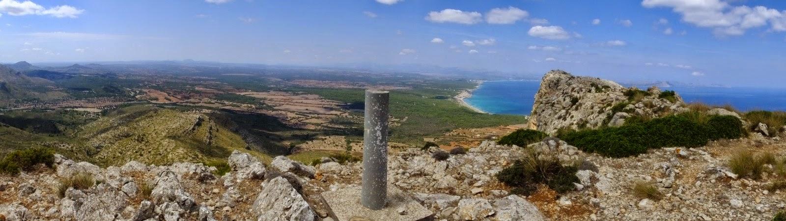 Malle 6 – von der Eremita de Betlem auf den Puig de Ferrutx
