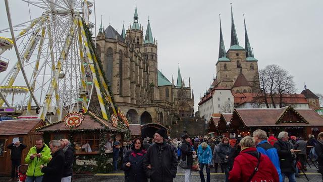 Weihnachtsglühen in Erfurt